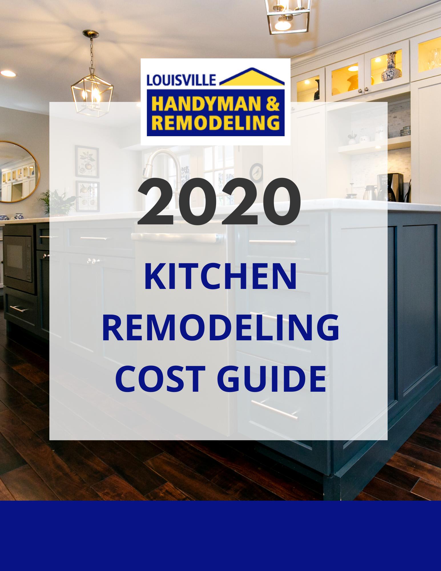Louisville Handyman Kitchen Cost Guide